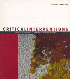Critical Interventions 2010